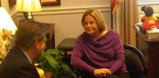 Congresista Ileana Ros-Lehtinen (R-FL), Presidenta del Subcomité del Medio Oriente y África del Norte