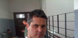 Danny Ramírez esperando decisión del Juez 2do de Ejecución, Ciro Chacón (Foto VAF)