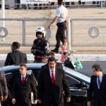 Nicolas Maduro a su llegada a Brasil. Mayo 9,2013