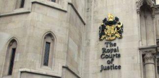 El edificio de los tribunales de justicia de Old Bailey, en Londres. AP