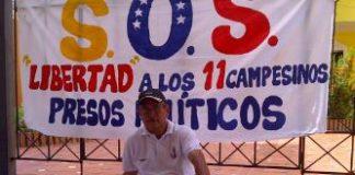 Secretario General del Colegio Nacional de Periodistas de Barinas, el periodista Tarquino González Concho