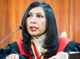 Gladys Gutiérrez, presidenta de la Sala Constitucional y del TSJ / Foto EFE
