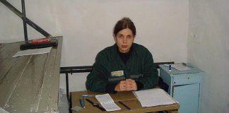Imagen de Nadezhda Tolokonnikova en prisión