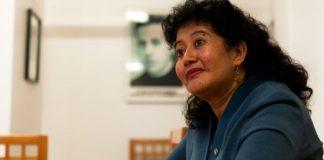 La jueza guatemalteca Yassmín Barrios. / PEP COMPANYS