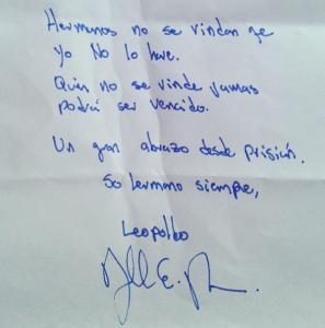Leopoldo carta