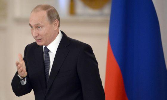 Vladímir Putin en una conferencia en Moscú el pasado miércoles. / ALEXANDER NEMENOV (AFP)