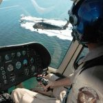 os helicópteros del servicio de Aduanas y Protección de Fronteras (CBP) patrullan el Estrecho de la Florida en busca de embarcaciones con inmigrantes indocumentados. Zachary Mann / Customs and Border Protection