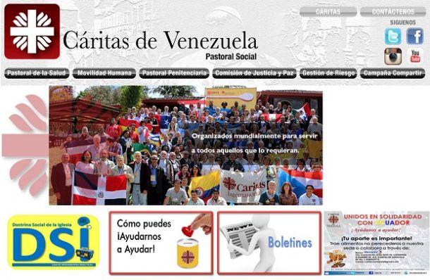 Cáritas está presente en Venezuela desde 1958 (CORTESÍA: caritasvenezuela.org.ve)