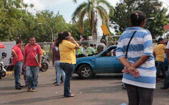 Foto: La Verdad. Enfermeros protestaron en Maracaibo.